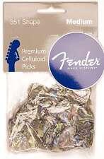 Genuine Fender® 351 Premium Picks, 144 pack, Abalone Medium 098-2351-357