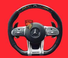 MERCEDES AMG GT  C190 CARBON LENKRAD MIT LED  ECHT CARBON