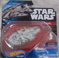 Star Wars Hot Wheels 01 Millennium Falcon