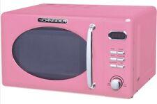 Microwave Retro Schneider MW720 Sp Pink 700Watt 20l Nostalgia Pink Barbie Rose