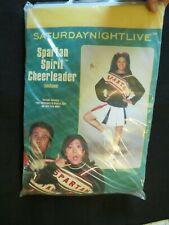 SNL Saturday Night Live Spartan Spirit Cheerleader Costume women's fits most
