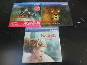 THE CHRONICLES OF NARNIA SET 3 BBC PROMO AUDIO BOOK CDS FULL CAST DRAMATISATION