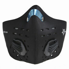 RockBros Cycling Anti-dust Half Face Mask with Filter Neoprene Size L Black