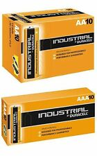 Duracell 10 x AAA and 10 x AA Industrial Battery Replaces Procell Long Expiry
