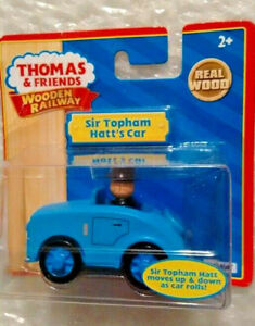 Thomas And Friends Wooden Railway Sir Topham Hatt's Car  Tomy real wood!