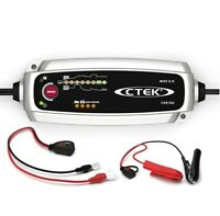 CTEK MXS 5.0 Batterieladegerät 12V Auto Motorrad PKW KfZ Temperaturkompensation