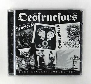 Destructors - Punk Singles Collection - CD Album - AHOY CD 274