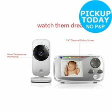 Motorola MBP482 2.4 Inch Baby Video Monitor.From the Official Argos Shop on ebay