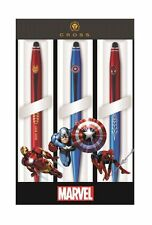Cross Tech2 Marvel 3 Pen Multi Pack - Spider Man, Iron Man, Captain America
