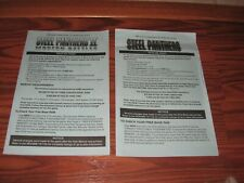 2 Steel panthers IBM Inserts - No game