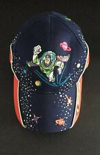 Buzz Lightyear Disney Parks Authentic Toddler Boy Blue Baseball Cap Hat 12-24mo