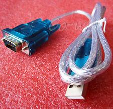 1PCS USB to RS232 Serial Port 9 Pin DB9 Cable Serial COM Port Adapter Convertor