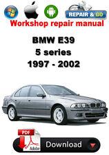 BMW E39 1997 - 2002 Workshop Repair Manual