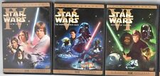 STAR WARS TRILOGY 3 DISC FULLSCREEN PAN AND SCAN REMASTERED RELEASE