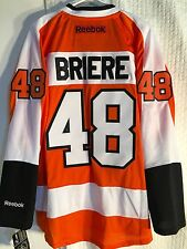 Reebok Premier NHL Jersey PHILADELPHIA Flyers Daniel Briere Orange sz XL