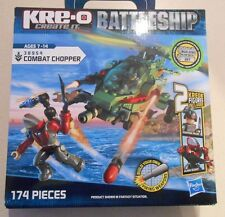 NEW KRE-O 98954 COMBAT CHOPPER BATTLESHIP HASBRO MINI FIGURES RARE HARD TO FIND