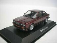 Maxichamps BMW Série 3 (E30) 1989 Echelle 1:43 Voiture Miniature - Red Metallic (940024000)