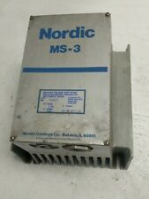 Nordic MS-3 Soft Start 1634712 40HP 60A 460V 3PH Used