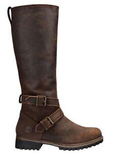 Timberland Women's Wheelwright Tall Buckle Waterproof Boots A15T3 Size:6
