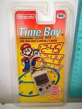 Nintendo TIME BOY portachiavi GAME BOY GIG con orologio a cristalli liquidi 1993