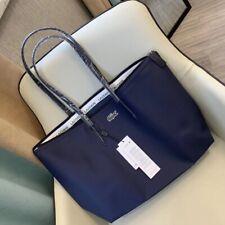 BNWT Lacoste Para Mujer Bolsa De Compras De Grande Azul Marino