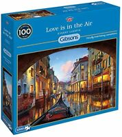 JIGSAW PUZZLES 1000 PIECE LOVE IS IN THE AIR GIBSON SEALED BRAND NEW