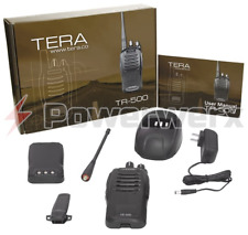 TERA TR-500 Dual Band VHF/UHF 16 Channel Handheld Commercial Radio