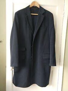 Charles Tyrwhitt overcoat rrp £195 - size 40 / Large - Navy