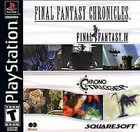 FINAL FANTASY CHRONICLES PS1 PLAYSTATION 1 DISC ONLY