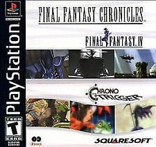 New! Final Fantasy Chronicles PS1 IV PlayStation Chrono Trigger Free Shipping #$