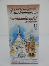 Knox Incense Cones 24 Christmas Apple Fragrance for German Smokers