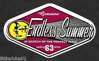 THE ENDLESS SUMMER Large 26cm Sticker Decal Surfboard UTE VAN KOMBI VW Surfing