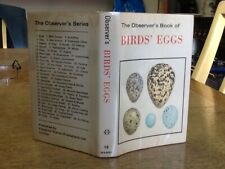 Observers Book Of Birds Eggs Partly Bound Upside Down