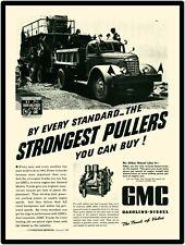 1942 GMC Dump Truck Vintage Look New Metal Sign: 2 Cycle Diesel Trucks.