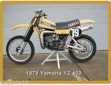 1979 Yamaha YZ 400 Motorcycle Dirt Bike  Refrigerator / Tool  Magnet