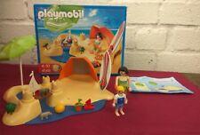 Playmobil Plage Set (4149), y compris la case.