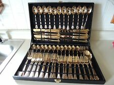 Rogers and Son silverware/flatware in box (61) pieces