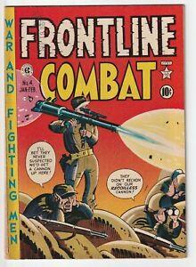 Frontline Combat #4, EC, G/VG 1952, Severin, Kurtzman, Wood, Davis