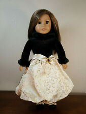 Authentic American Girl Doll Clothes 18 Inches Midnight Holly Dress Outfit