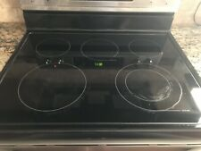Frigidaire Glass Cooktop/Stove Top Black w/warmer