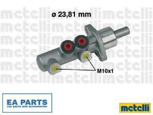 Brake Master Cylinder for AUDI METELLI 05-0259