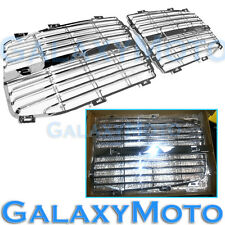 06-08 Dodge RAM 1500+2500+3500 Chrome Grille Replace Grill Trim Insert 1 Set kit