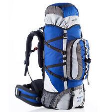 skandika Cairgorm 85+10 litri Zaino Trekking/Escursionismo blu/grigio nuovo