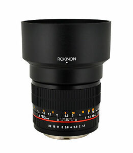 Rokinon 85mm F1.4 Aspherical Lens for Micro Four Thirds - New Mount!