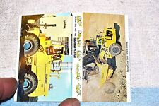 DOUBLE MATCHBOOK MICHIGANS ARE ON THE MOVE (Clark heavy equipment) NEW FULL