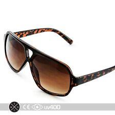 Tortoise Modern Active Mens Plastic Aviator Sports Square Sunglasses S179