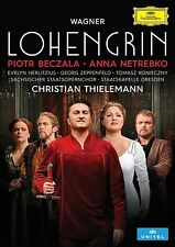 RICHARD WAGNER: LOHENGRIN (PIOTR BECZALA, ANNA NETREBKO, ...)  2 DVD NEU