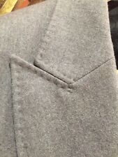 GUCCI 100% AUTHENTIC BRAND NEW JACKET GRAY WOOL SINGLE BREASTED BLAZER 44