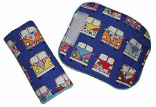 Baby VW Campervan Car Seat Pram Highchair Harness Belt Cover Pads *NEW PADDED*
