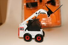 BOBCAT 863 Loader And Attachments Diecast Metal 1:25 Toy Miniature Model